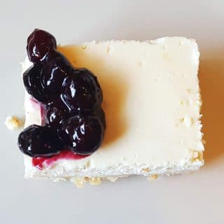 Healthy Greek Yogurt Cheesecake