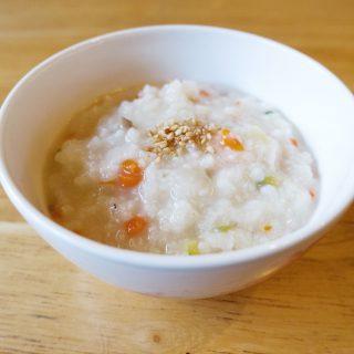 Korean Vegetable Rice Porridge – 야채죽