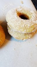 cinnamon sugar baked donut