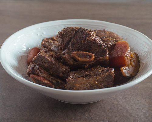 Galbi Jjim (Korean Braised Beef Short Rib)
