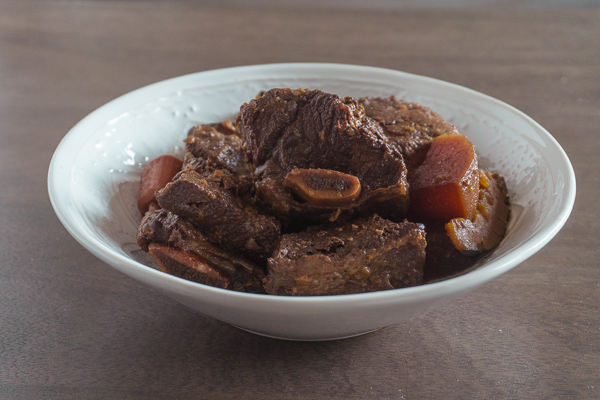 Galbi Jjim (Korean Braised Beef Short Rib)