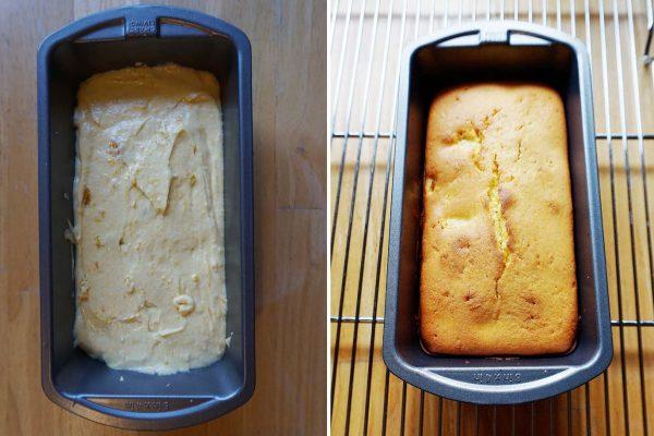 kabocha pound cake