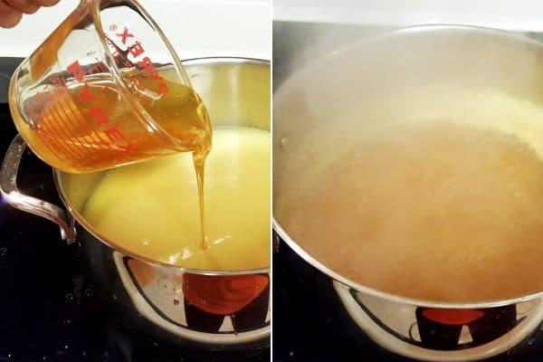korean honey ginger tea