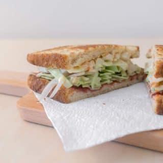 Newlyweds Diary: Ku Hye-Sun Sandwich