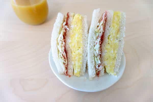 Inkigayo Sandwich (Korean Trendy Sandwich)