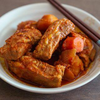 Spicy Korean Braised Pork Ribs (Galbi Bokkeum Tang) – Baek Jong Won