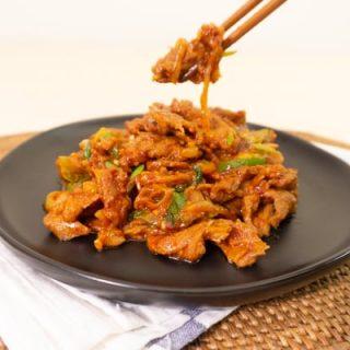 Soo-mi's Side Dishes – Spicy Pork Duruchigi