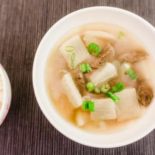 Baek Jong Won Beef and Radish Soup