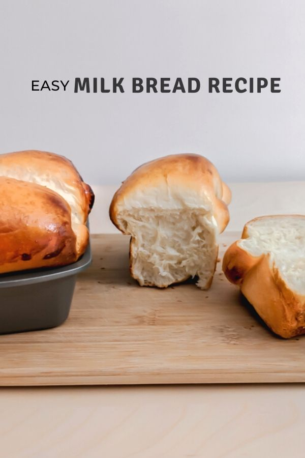 Milk Bread, Hokkaido Milk Bread, Japanese Milk Bread
