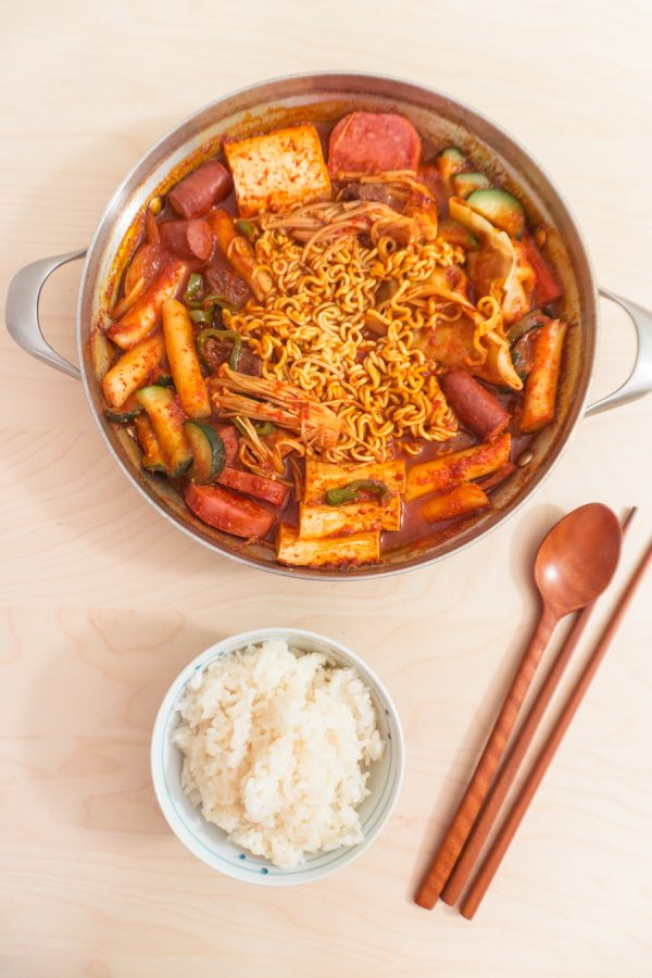 budaejjigae (korean army stew)