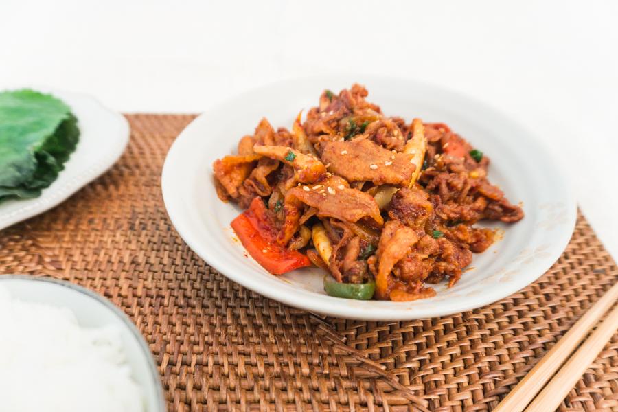 Osam Bulgogi from Soo-Mi's Side Dishes (Korean Spicy Stir ...