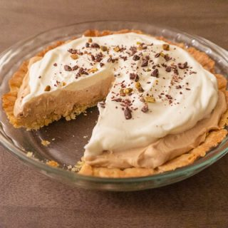 Earl Grey Cream Pie
