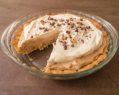 Earl Grey Cream Pie