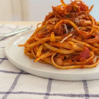 Gochujang Tomato Sauce Pasta