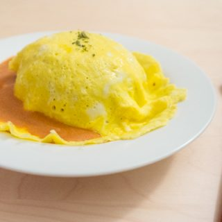 Kang's Kitchen Omurice (Omelette Rice)