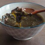 beef miyeok guk (Korean seaweed soup)