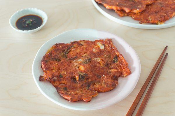 Kimchi Pancake (Kimchi Jeon) – Baek Jong Won Celebrity Chef