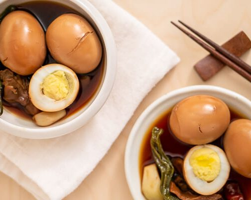 Gyeran Jangjorim (Korean Braised Eggs)