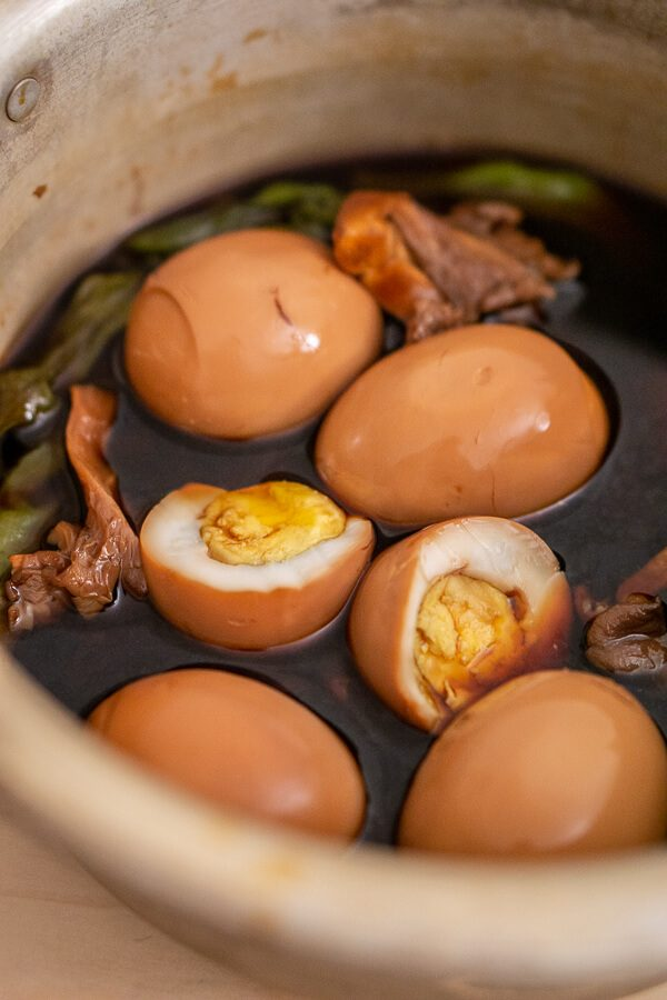 Gyeran Jangjorim (Korean Braised Eggs)