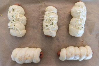 Korean Sausage Roll Bread