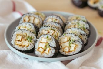 Fried Tofu Gimbap - Lee Sang Min