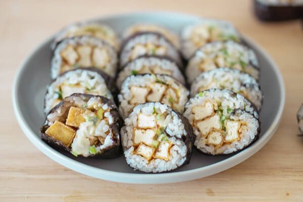 Korean Fried Tofu Gimbap - Lee Sang Min