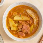 Korean Potato and Spam Stew (Gamja Jjageuli)