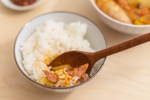 Korean Potato and Spam Stew (Gamja Jjageuli)