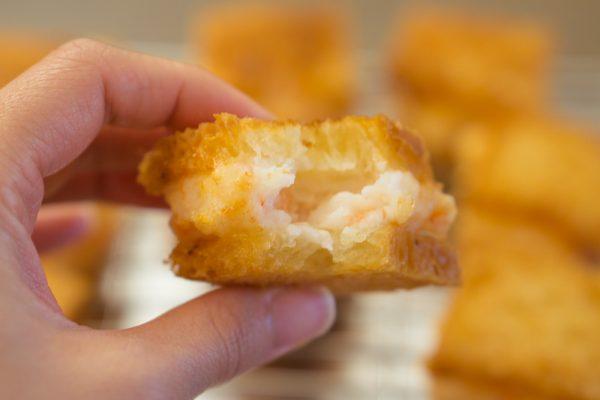 Menbosha (Fried Shrimp Toast)