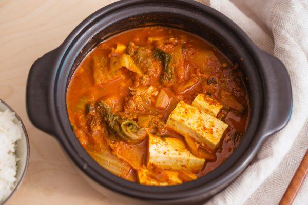 Kimchi Jjigae by Chef Baek Jong Won
